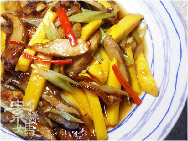 快炒料理-熱炒芒果鮑魚菇21.jpg