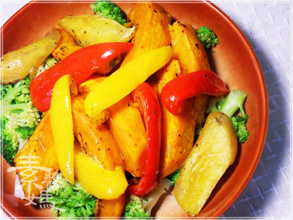簡單料理 - 烤蔬菜13.JPG