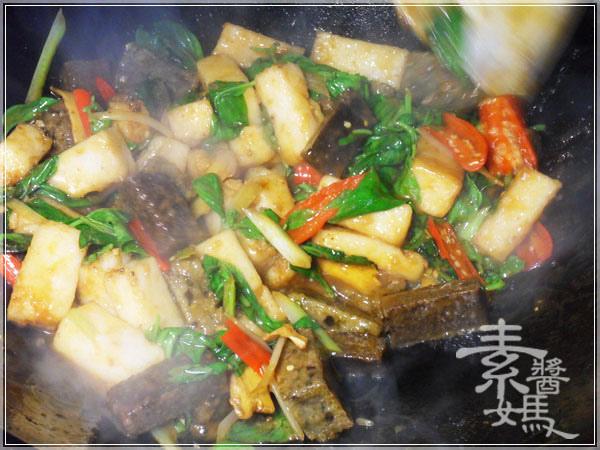 素食料理-紅燒麻油雙糕18.JPG