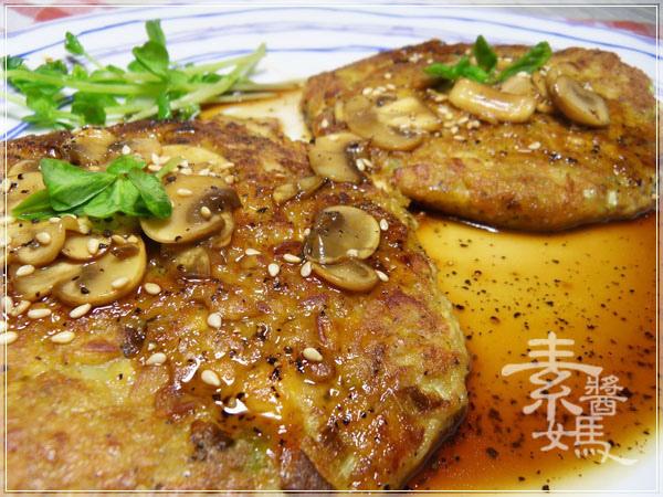 素食漢堡-日式照燒漢堡排29.JPG