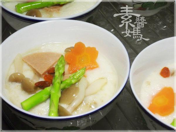 無蛋素料理-山藥茶碗蒸06.JPG