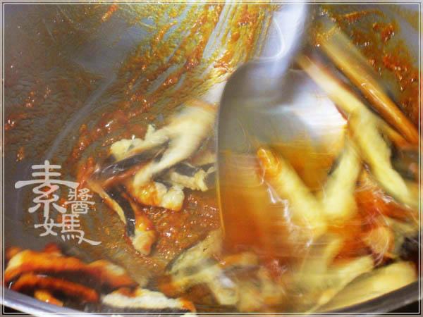 素食小菜 - 糖醋素小魚乾14.JPG