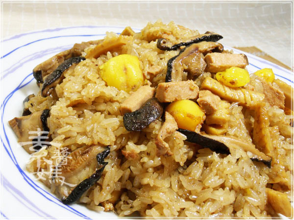 中式料理-鳳眼果油飯23.jpg