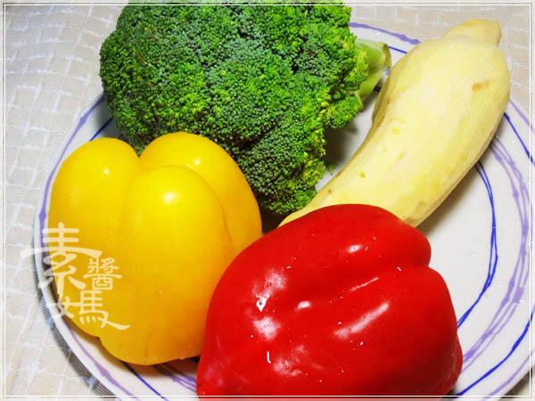 簡單料理 - 烤蔬菜03.JPG