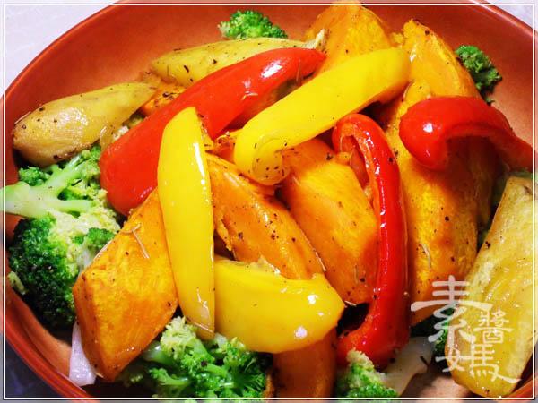 簡單料理 - 烤蔬菜10.JPG
