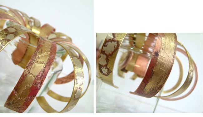 紅黃銅手環