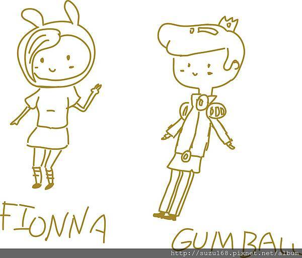 Fionna&gumball