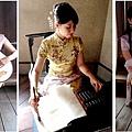 DIY旗袍照