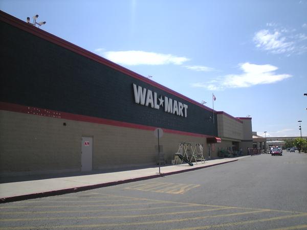 第一次看到walmart