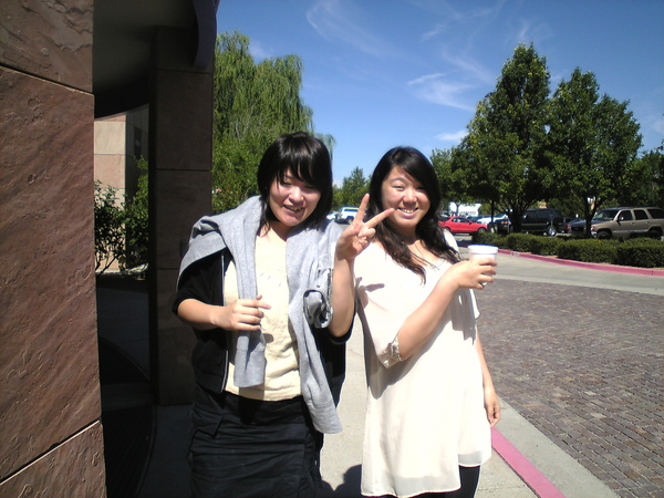 日本同事跟中國同事