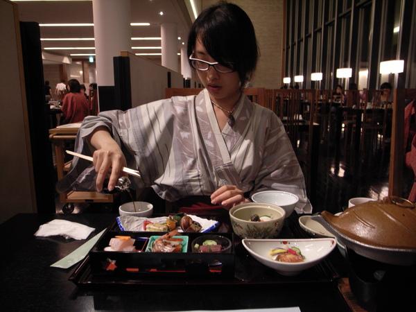 箱根豪華懷石料理
