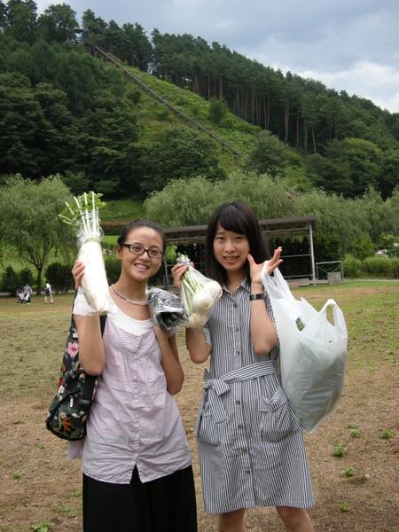 買了高山蔬菜