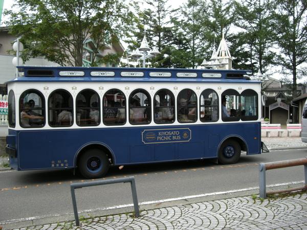 清里的巴士