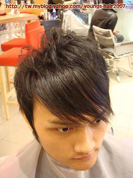 瀏海 髮束接髮