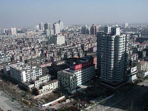 011222_1從房間遙望杭州市東北