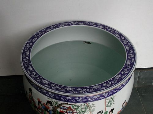 020211_1杭州植物園_09紅樓夢水缸裡的小金魚