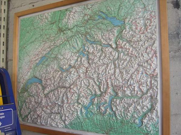 022_瑞士立體地圖