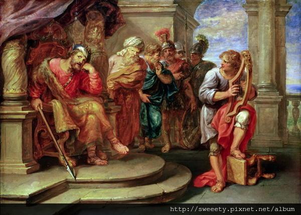 David played harp to Saul.jpg