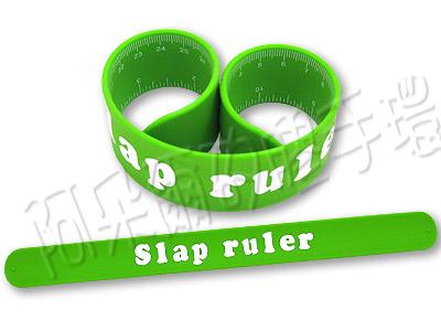 阿朵爾 客製化 矽膠拍拍尺 矽膠手環 訂製 製作 (綠)