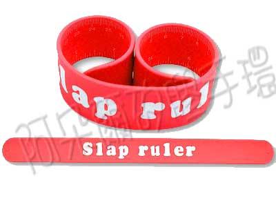 阿朵爾 客製化 矽膠拍拍尺 矽膠手環 訂製 製作 (紅)