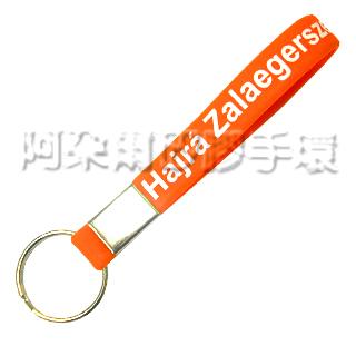 阿朵爾 客製化 矽膠鑰匙圈 訂製 製作 (印刷款 範例)