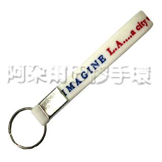 阿朵爾 客製化 矽膠鑰匙圈 訂製 製作 訂做 (填色款 範例)