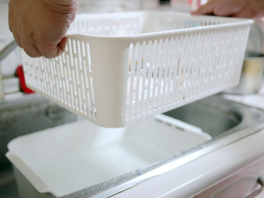 tower可拆式洗滌瀝水籃(白) 山崎生活 Yamazaki 廚房收納 碗盤瀝水 通風設計