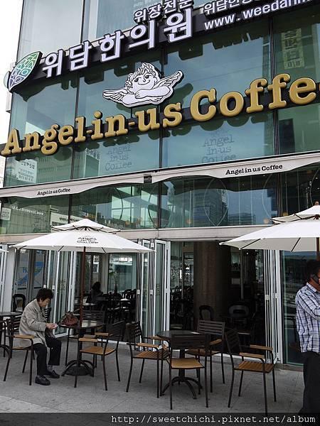 另ㄧ家連鎖咖啡廳angel in us coffee