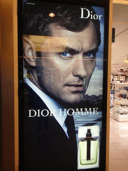 我老公幫Dior Homme拍的香水廣告