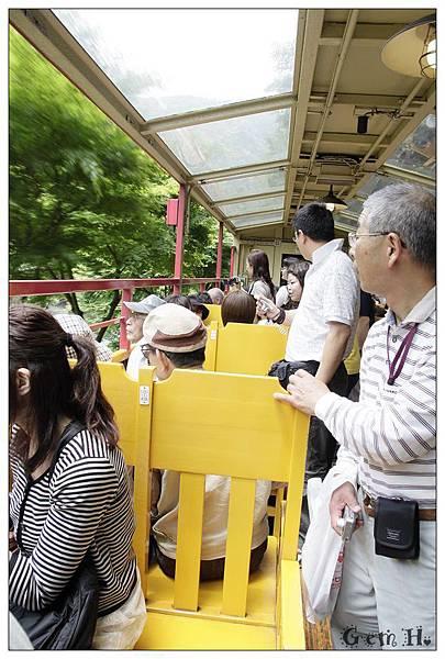 嵐山左峨野小火車3