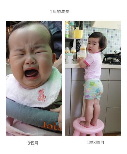 8個月vs1歲8個月(說明)