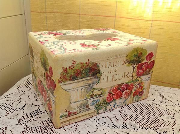 愛心面紙盒(中型)