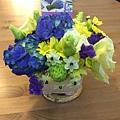桌花-繡球花