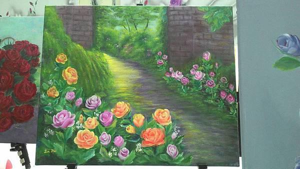 彩繪玫瑰花展