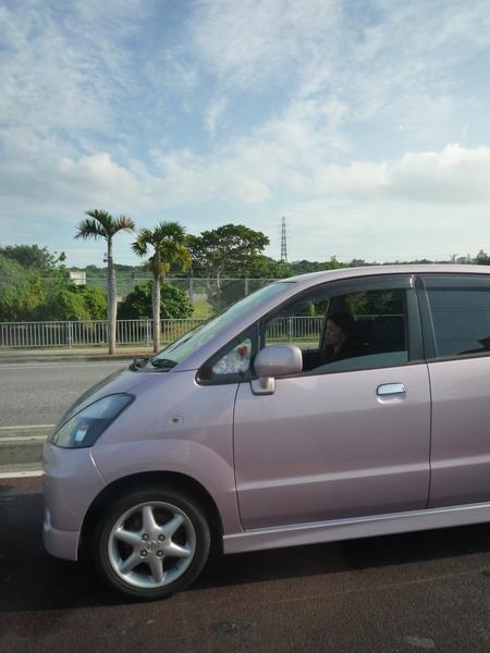 在沖繩每個人都會開車...
