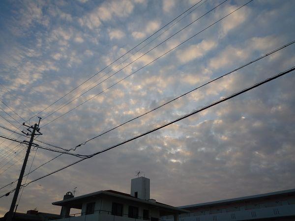 黃昏的天空