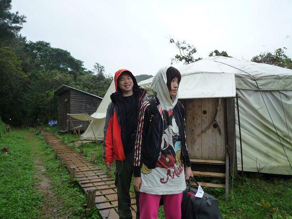 我們的高級帳篷下次來就要住合宿了:)