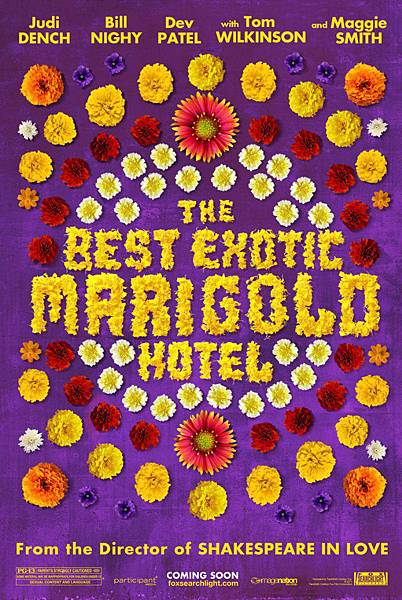 the great exotic marigold hotel
