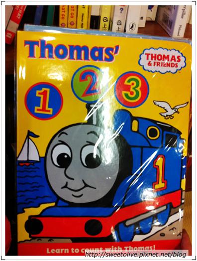 湯瑪士小火車123英文讀本