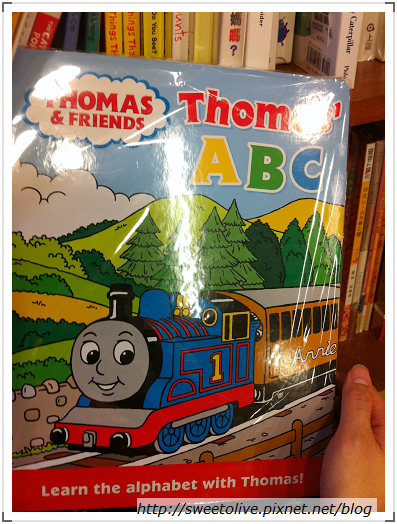 湯瑪士小火車ABC英文讀本