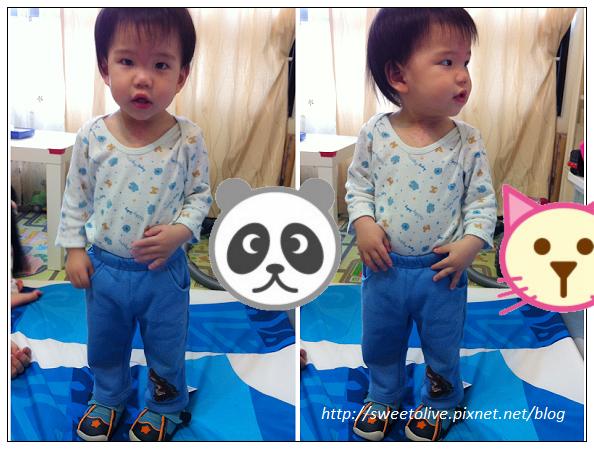 徐兔寶的貝親學步鞋-1