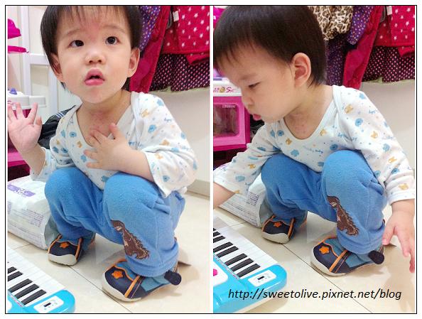 徐兔寶的貝親學步鞋-3