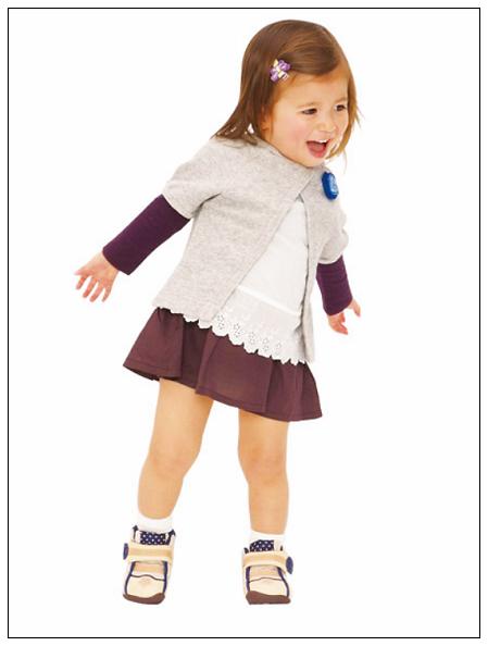 徐兔寶的貝親學步鞋-4