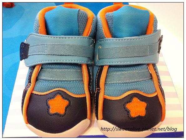 徐兔寶的貝親學步鞋-5