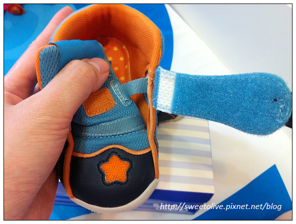 徐兔寶的貝親學步鞋-8