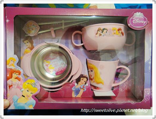 DISNEY公主麥坤不鏽鋼餐具組-1