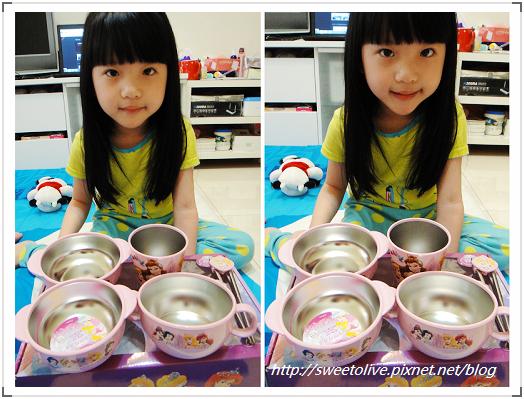 DISNEY公主麥坤不鏽鋼餐具組-3