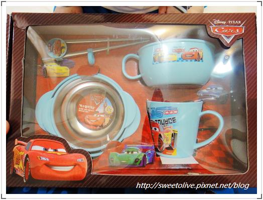 DISNEY公主麥坤不鏽鋼餐具組-5