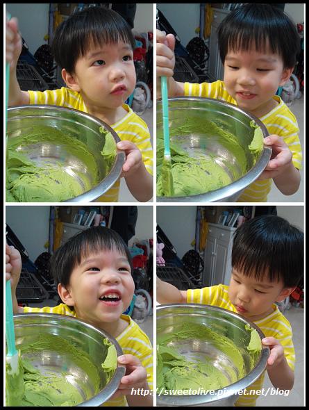green tea flavor cup cake -5