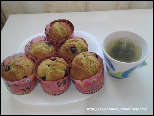 green tea flavor cup cake -13